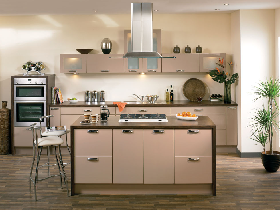 Duleek High Gloss Cappuccino Kitchen